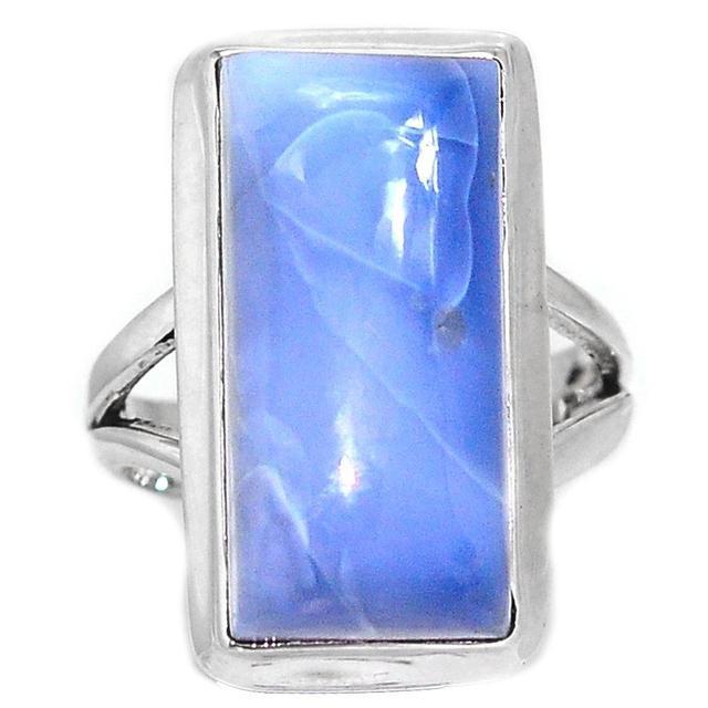 Owyhee Lovegem Genuino Opal Anillo de Plata Esterlina 925, Tamaño: 8.75, AR1305