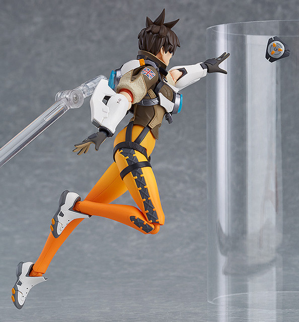 Figma 352 Game OW Character Tracer 14cm BJD Action Figure Model Toys 4