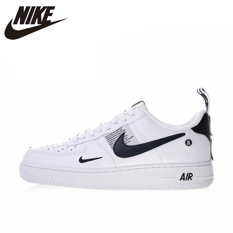 US $74.46 49% OFF Original Authentic Nike Air Force 1 07 LV8 Utility Men's Skateboarding Shoes Sport Outdoor Sneakers Designer 2018 New AJ7747 100 in