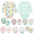 Y20 roupa do bebê no outono inverno macacão de algodão do bebê triângulo ha roupas de bebê do sexo Masculino e do sexo feminino variedade de opcionais 2 pçs/set