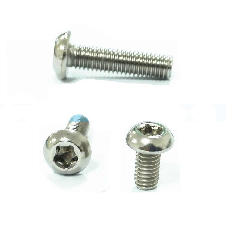 M3*4//5//6//8//10//12-35mm Torx Screw Round Head T/&TX Plum 304 Stainless Steel Bolts