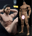 """1/6 scale figure accessories Strong muscles male doll body stainless steel skeleton seamless body for 12"""" action figure doll"""
