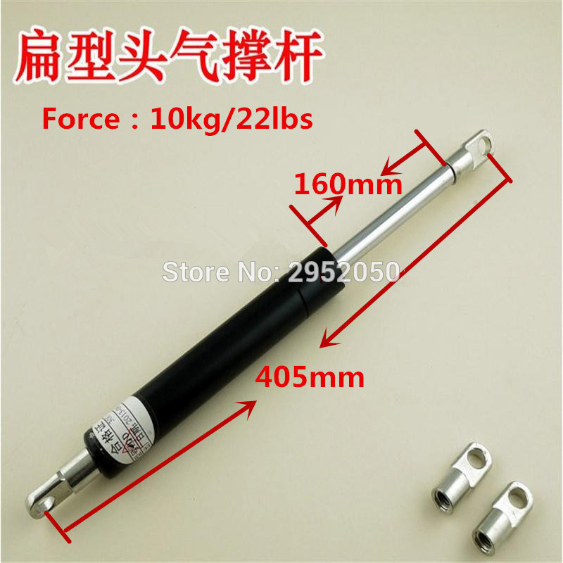 160mm*405mm 10kg/ 22lbs M8 Gas Spring Strut Damper for Hood Lift Support  pneumatic Auto Gas Spring, Lift Prop Gas Spring Damper kitchen cabinet door lift pneumatic support hydraulic gas spring stay hold j2y