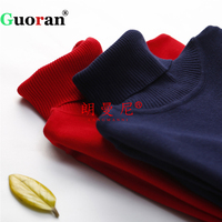 Guoran Women Knitted Sweaters 2017 Autumn Winter Turtleneck Pullovers S M L Soft Stretch Tops