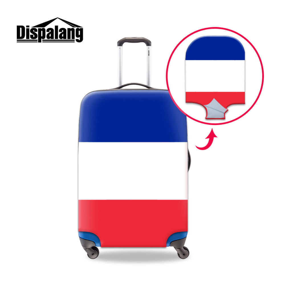 National flag Print Luggage Protective Cover Suitable for 18-30 inch Trolley Case Elastic Suitcase Dust cover Travel Accessories