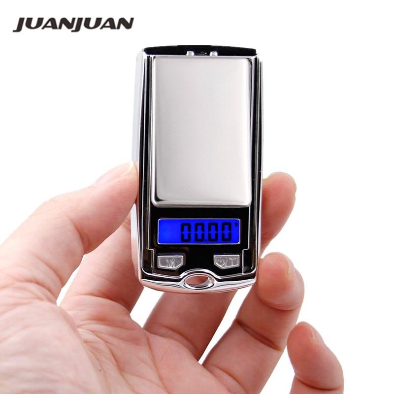 New Car Key Design 100g x 0.01g Mini Electronic Digital Jewelry Scale Balance Pocket Gram LCD Display 17% off