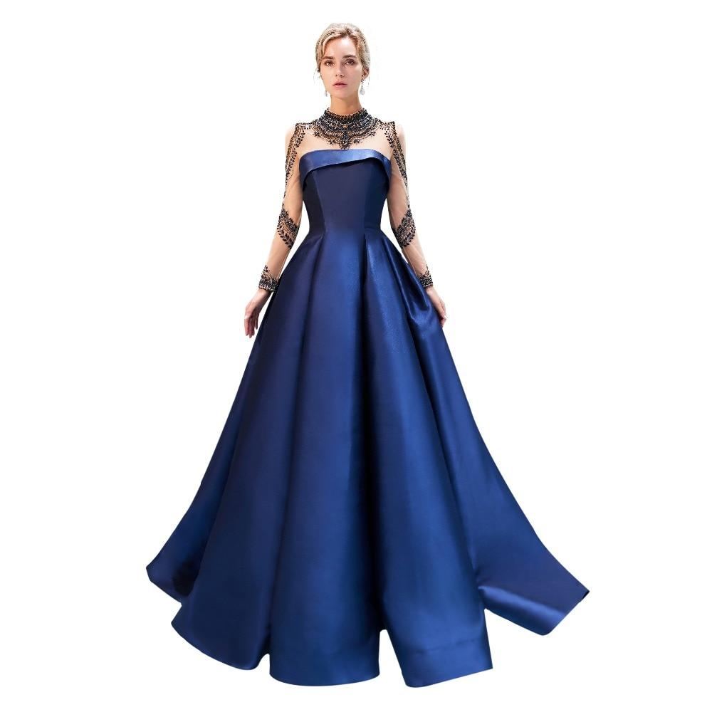 dba5f441da51 Nuove Gala Raso Di Che Partito C74 Donne Del Delle Per Gratuating Proms 2018  Borda Lungo Data Serate Diamanti 1 Cerimonia Elegante Abiti Abito qwUxAEXqnf