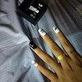 DIY 3D логотип спортивный бренд наклейки для ногтей Самоклеящиеся DIY стикеры наклейки Советы Маникюр дизайн ногтей наклейки для ногтей - фото
