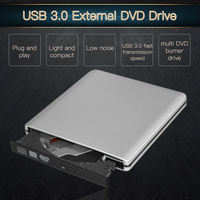 USB 3 0 Portable External DVD RW CD RW Burner Writer Rewriter Optical Disc Drive CD