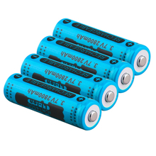 GTF 14500 3.7V 2800mAh Rechargeable Li-ion Battery for LED Flashlight Battery power bank remote control Dropshipping c0119 universal 5v 2800mah li ion battery power bank w led indicator flashlight for samsung htc