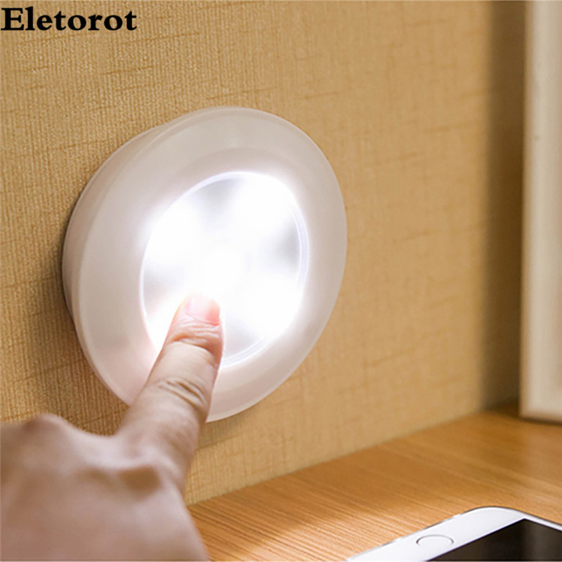 3w 5 led remote control night light bedroom bedside bathroom kitchen desk wardrobe cabinets night lamp