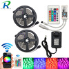 RGB LED Strip Light 5050 LED Fita LED Strip 5050 RGB Set 12 Meter RGB LED