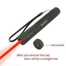 Best price JSHFEI Laser 650nm Laser Pen Pointer 200mw red high powered instantly burning matchs presenter apresentador de slides