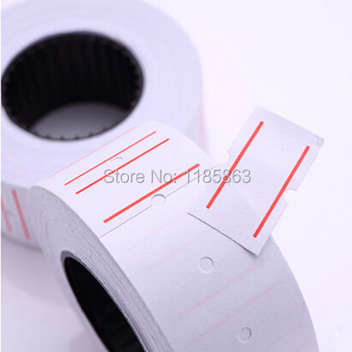 5 Roll Price Gun Label Labels 21 X 12mm Paper Tag Price Tags Mark White Sticker For MX-5500 Roll Bulk Sets New