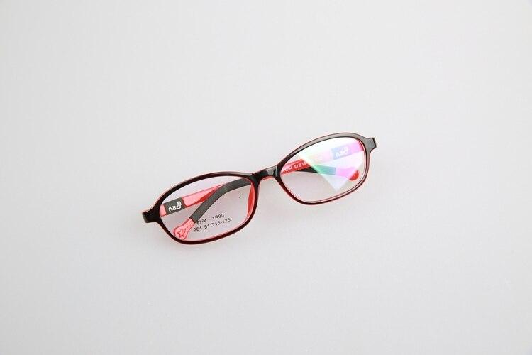 Kacamata anak anak bingkai anak TR90 silikon mempelajari kacamata Frame  gadis Amblyopia rabun Non Slip karet silikon kaca DD0650 di Frame kacamata  dari Pria ... 7ea76585e9