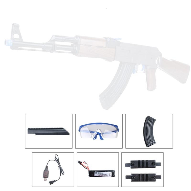 Renxiang AKM 47 jouet pistolet Gel balle dynamitage eau jouet pistolet RX AK47 gel balle jouet pistolet