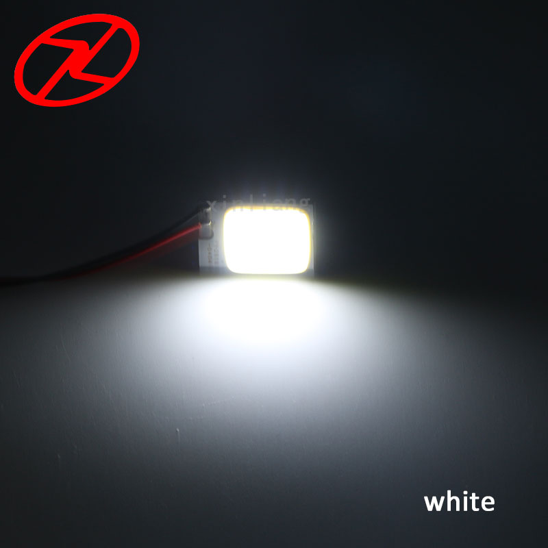 2 stk 26mm * 16mm Cars T10 Festoon ba9s Dome Adapter Panel Light COB - Billygter - Foto 5