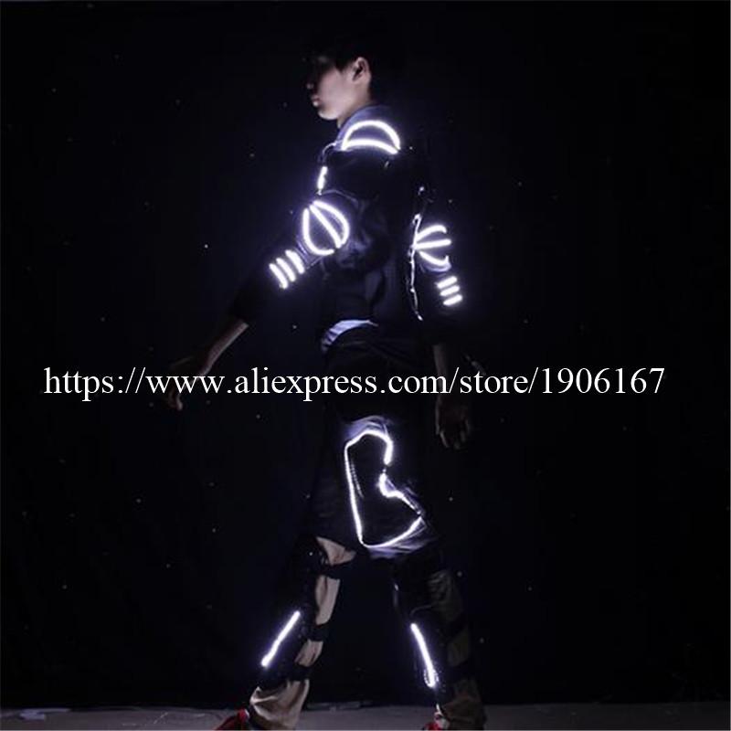 LED Costume LED Clothing Light suits LED Robot suits david robot04