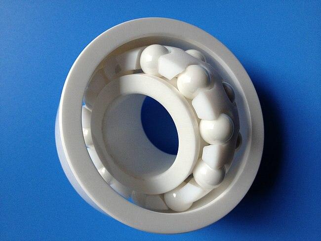 Palier céramique 1204 ZrO2 20x47x14mm roulements à billes auto-alignants Cage PTFE isolante Non magnétique ABEC 3