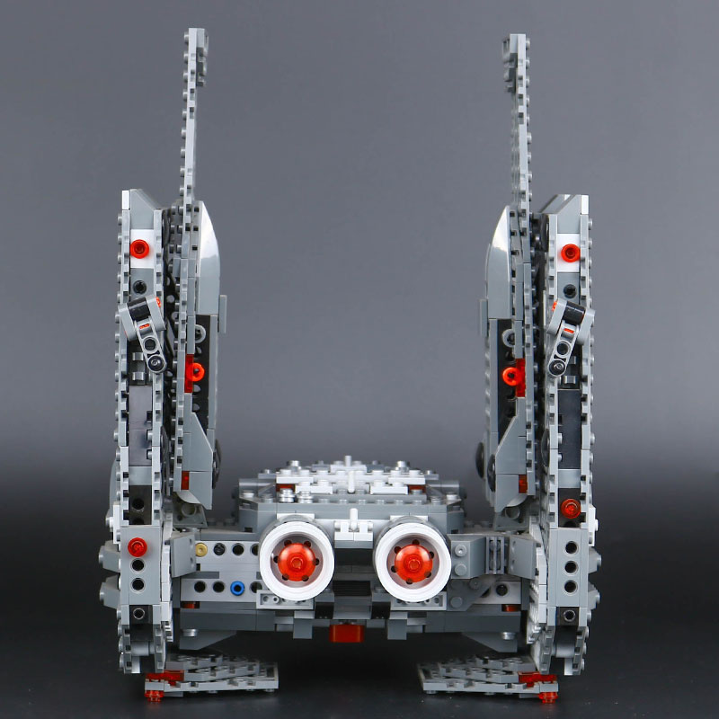 LEPIN star 05006 wars Kylo Ren Command Shuttle Building Blocks Kids DIY Educational Christmas legoINGlys 75104 birthday gifts lepin 05006 star kylo ren command shuttle lepin building blocks educational toys compatible with 75104 lovely funny toys wars