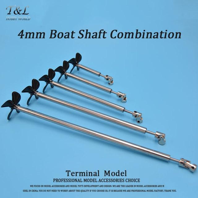 Buy 4mm boat shaft four blades propeller for Sailboat outboard motor size calculator