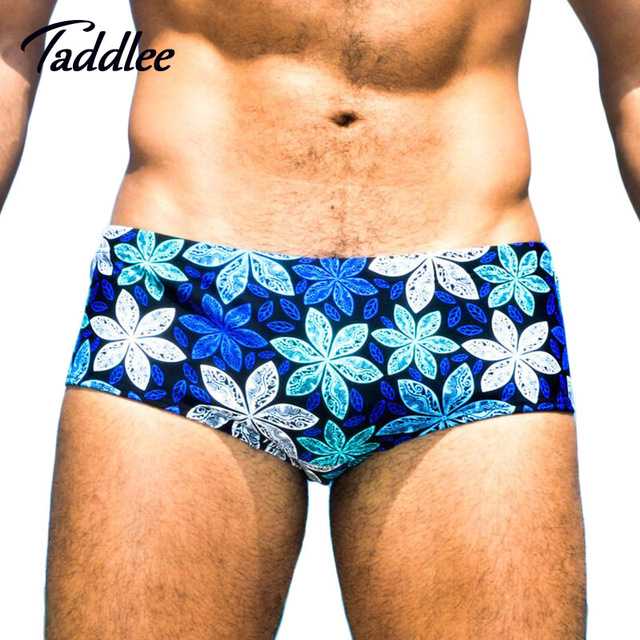 d29ddd1179 Taddlee Brand Sexy Mens swimsuits Briefs Swimwear Swim Boxer Shorts Trunks  New Men Swimming Bikini Gay Surf Board Shorts Sea