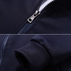 Image 5 - Set di Autunno della Molla dei nuovi Uomini Uomo Sportswear 2 Pezzi Set Vestito di Sport Jacket + Pant Tuta Maschile Tuta Asia formato L 4XL
