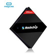 Magicsee H96 Max Rockchip RK3399 4 GB/32 GB Sechs Kern Android 7.1 2,4G/5,8G Dual WiFi BT4.0 USB 3.0/2,0 Satz top box Media player