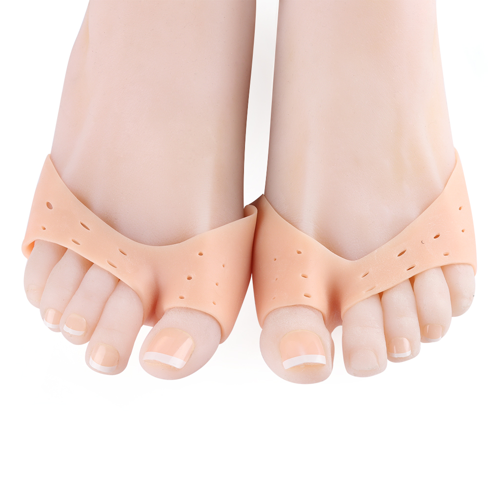 Girls Silicone Gel Pointe Toe Pads Soft Toe Caps Protectors for Ballet Shoes