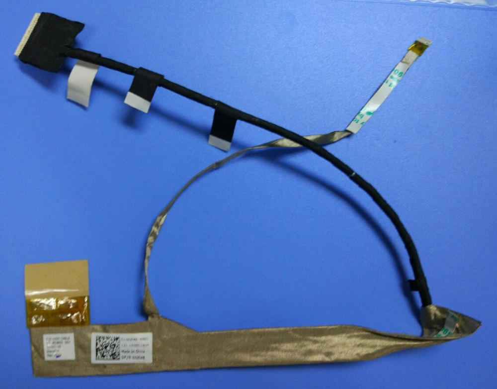 NEW Laptop LCD Screen Display FLEX VIDEO Cable for Dell Inspiron M5030 N5030 P/N 50.4EM03.001 FREE SHIPPING image