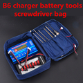 Storage bag  tools  for SKYRC  iMAX B6 IMAX B6 MINI  80W B6AC rc car plane tools Lipo NiMH battery
