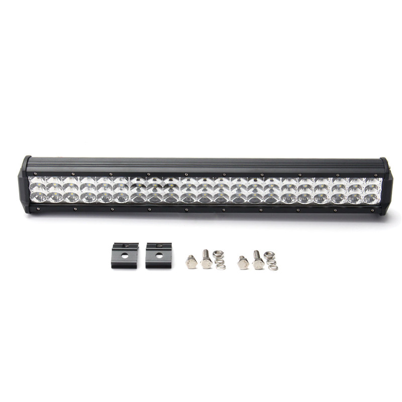 20Inch Tri Row Work Light 189W LED Work Light Bar Spot Flood Combo Waterproof IP68 For Offroad SUV ATV DC10-30V 6000k lyc 6000k led daylight for citroen c4 for nissan led headlights 12v car led lights ip 68 chips offroad work light 40w