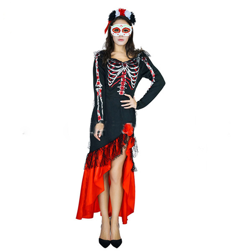 Costumes & Accessories Novelty & Special Use Moonight Horrible Ghost Pirate Costume Halloween Cosplay Dress Fancy Dress For Party