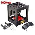 1000 mW USB BRICOLAJE Cortador Del Grabador Del Laser Sello Máquina de Grabado Láser talla de La Máquina Impresora Para Win7/Win8/XP/Win10