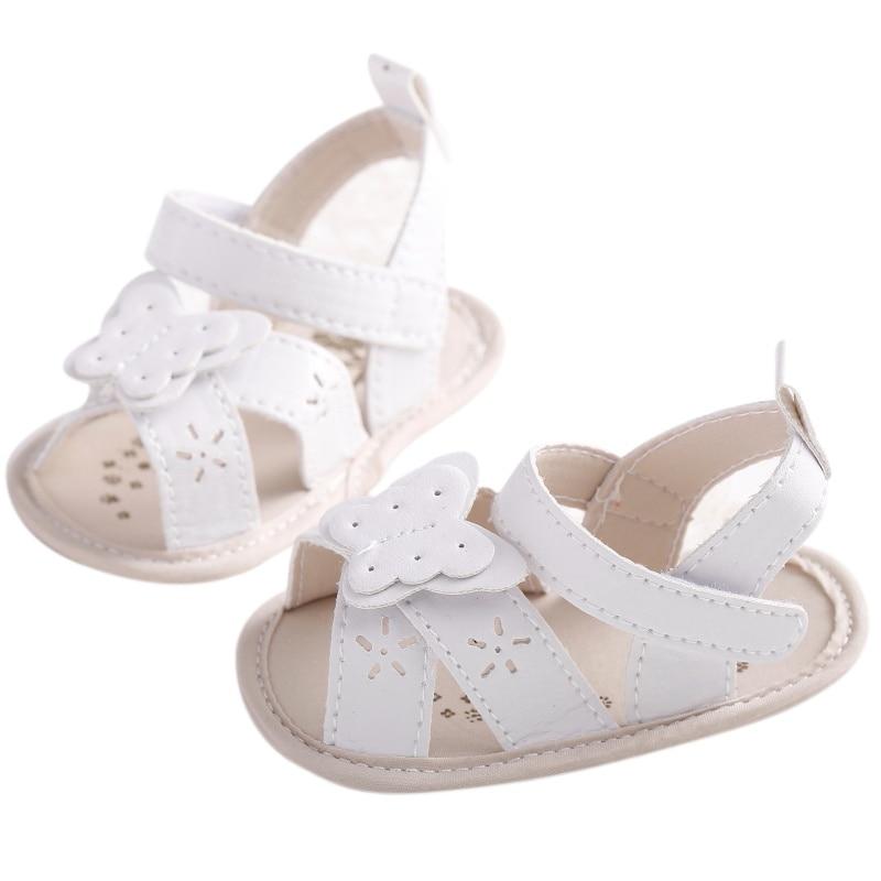 2018 più nuovo modo di estate Cute Baby Girls carino farfalla sandali di colore solido per i più piccoli Bambini Infantili ragazze scarpe