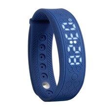 Фитнес-браслет H5S портативный интеллектуальной деятельности Управление Часы сердечного ритма Мониторы умный Браслет расстояние калькулятор (синий)