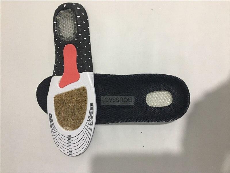 BOUSSAC Market Memory Foam Sport Insoles Sweat Absorption Pads Running Sport Shoe Inserts Breathable Insoles Foot Care Men Women
