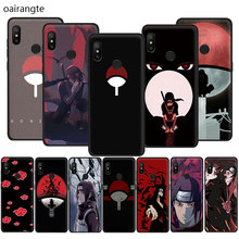 Naruto Shippuden Uchiha Itachi Soft TPU phone cover case for