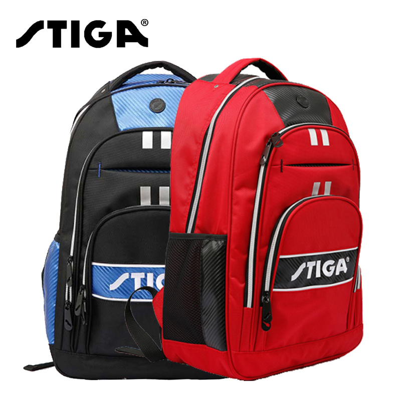 100 Genuine Stiga Table Tennis Bag Shoes Backpack Sports For Men And Women Coach bag