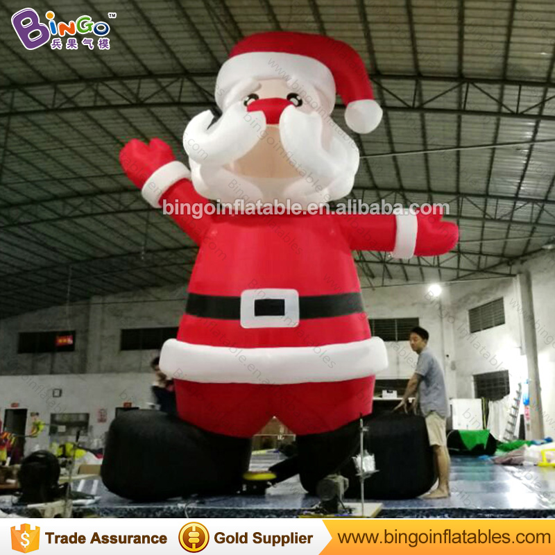 Free Delivery 5M high large Inflatable Santa Claus Replica outdoor decoration blow up old man model For Chrismas Day toys free shipping christmas inflatable snowman model decorative 4 meters high blow up snowman replica for event party toys