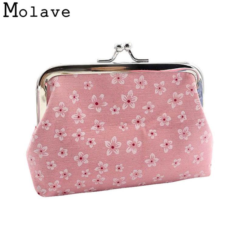 Naivety Cotton Cloth Coins Purses Multifunction Coin Purse Small Floral Prints Wallet Hasp Bag 50S71213 drop shipping