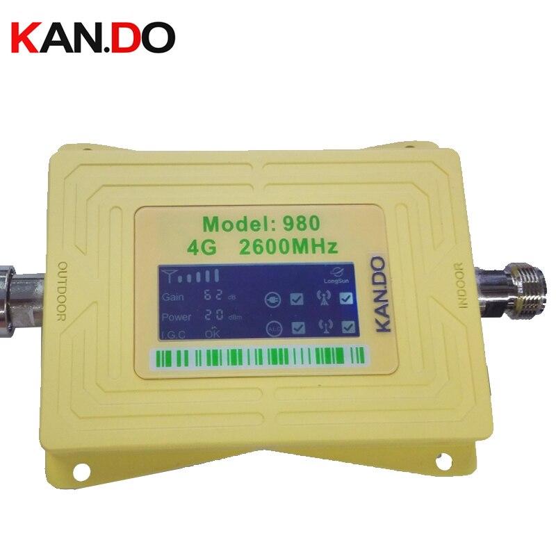 2017 Fdd 4g Band 7 980 20dbm Gain 62dbi Phone Signal Booster Repeater 4g Repeater Booster 4g Signal Booster LTE 2600mhz Booster