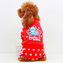 2016 HOT Sales Pet Dog Clothes Clothing Small Medium Dog Cute Superman Chihuahua Warm Winter Sweater Coat Red Yellow XS