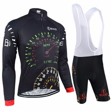 Bxio Men Cycling Sets Long Sleeve Mountain Bike Autumn Maillot Ciclismo Pro Tour Bicycle Italie Cuissard Cycliste Equipe 022