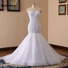 Satsweety Vestidos de Novia Mermaid Wedding Dress