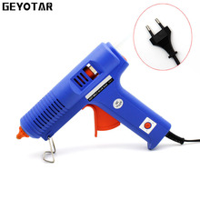 150w Eu Plug Hot Melt Glue Gun With Free 1pc 11mm Stick Heat Temperature Tool Industrial Guns Thermo Gluegun Repair Tools 2017