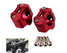 Motorcycle modified handlebar fixing seat Reducing adapter code CNC clamp mounting holder