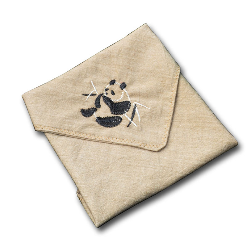 Animal Embroidery Handkerchiefs Women And Men Hanky Vintage Cotton Linen Handkerchiefs For Children