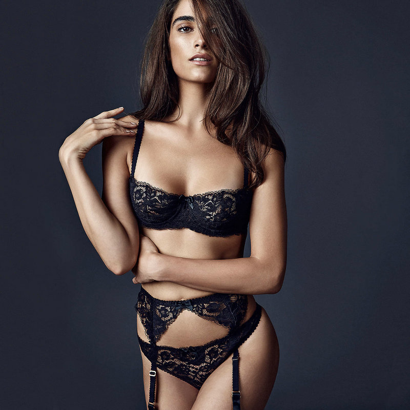 534712e168 32 34 36 38 A B C D Big Cup French Lace Bra Panties Set Thin Cup ...