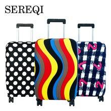 SEREQI Дорожный чемодан, Защитные Чехлы, чехол для чемодана 18-32 дюймов, чехол для чемодана, аксессуары для путешествий